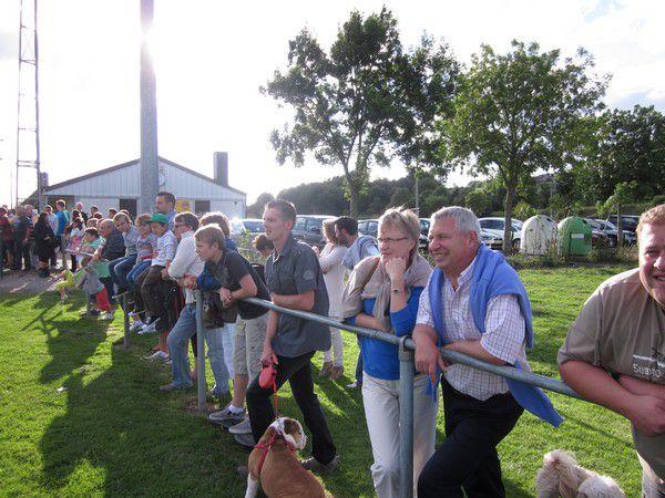 Les supporters sont venus nombreux pour ce 1er match