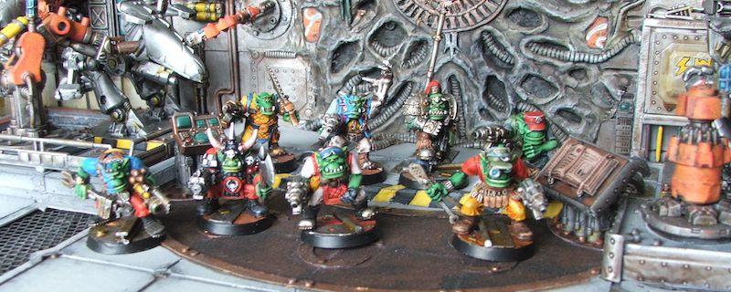 Space Crusade - 8 Orks