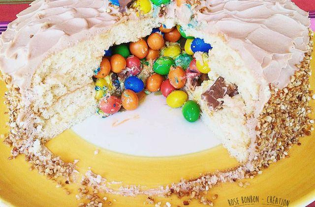 PINATA CAKE AU KINDER ET M&M'S