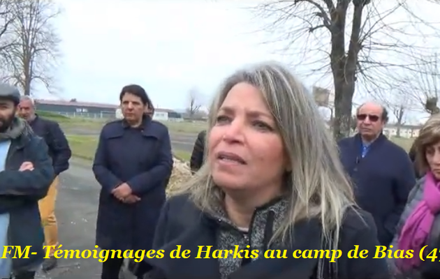Témoignages de Harkis au camp de Bias (47)
