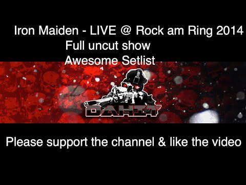 Iron Maiden Live at Rock am Ring 2014