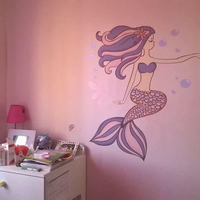 Une chambre sur le thème Sirène...