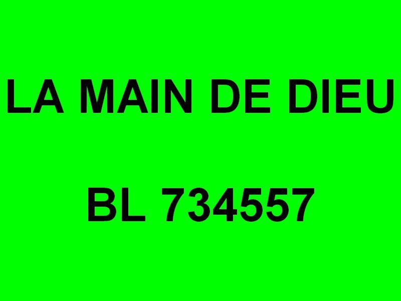 LA MAIN DE DIEU ,   BL 734557 , à quai dans le port de Boulogne sur Mer le 06 juin 2019
