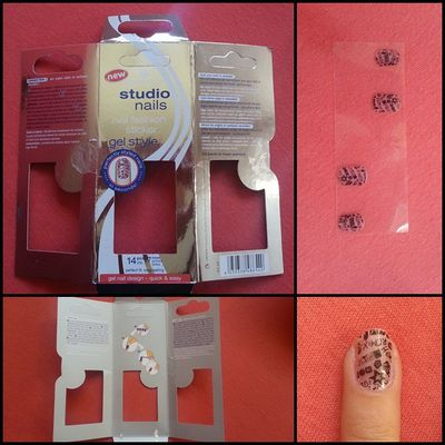 "ESSENCE ""Studio Nails - Nail Fashion Sticker - Gel Style"" - 03 ""berlin's most wanted"" - Review"
