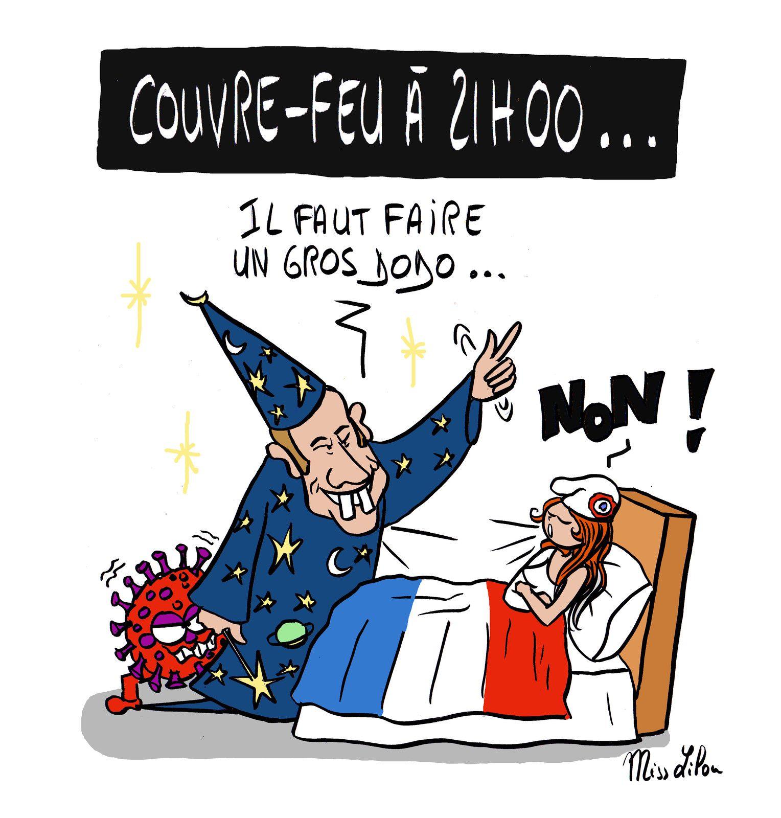 """""""Couvre-feu à 21h00 !"""""""