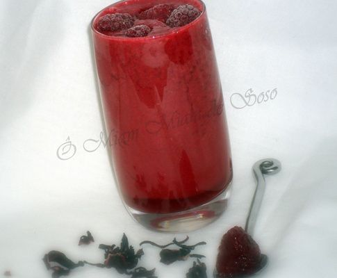 SMOOTHIES FRAMBOISE FLORALE