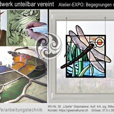 Ein aussergewöhnliches Kunsthandwerk - die Glasmalerei > Farbglaswelten