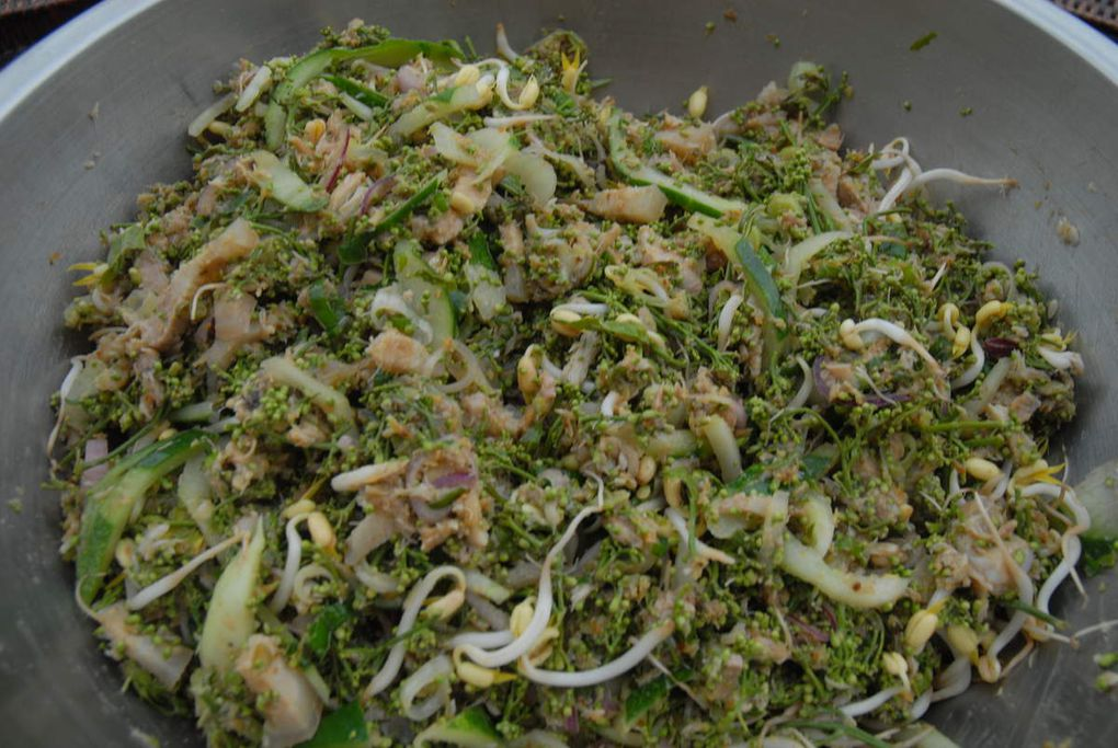 Ingredients and methods for the Sdao Salad