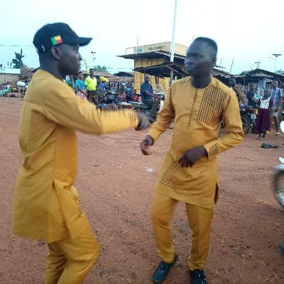 """Présidentielle 2021 : Le Groupe musical """"Togbo Qualité"""" a émerveillé"""