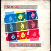 Lene lovich - What will i do without you / Joan - 1980 - l'oreille cassée