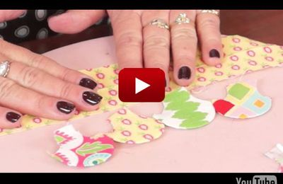 Riley Blake Designs presents Sue Daley's Clam  Shell Technique Video #rileyblakedesigns #suedaley #clamshell #quilting #tutorial