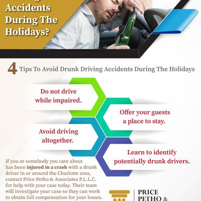 What Are The Tips To Avoid Drunk Driving  Accidents During The Holidays?