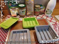 Barres de cookies aux pépites de chocolat et beurre de cacahuètes