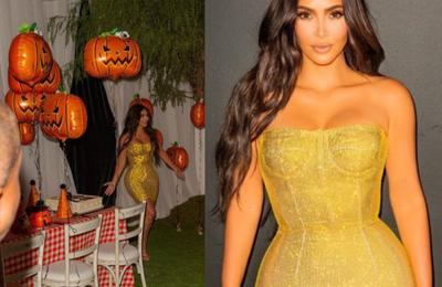 Kim Kardashian partage des photos de sa 40e anniversaire surprise