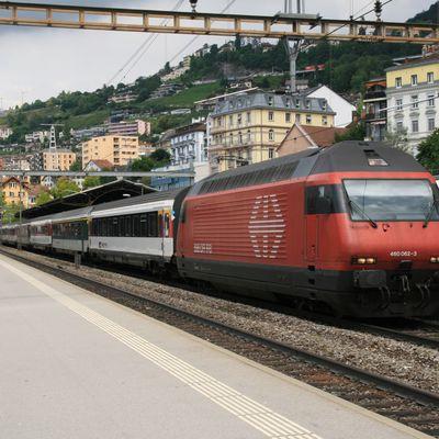 Matériel moteur des chemins de fer suisses