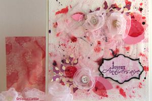 "Carte ""Roses Couture"""