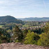 BRUYERES-VOSGES : balade à la Roche de Fouchon - Bruyères-Vosges