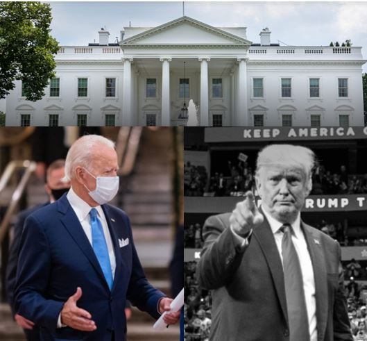 Présidentielle américaine 2020: Joe Biden un pied in, Donald Trump un pied out