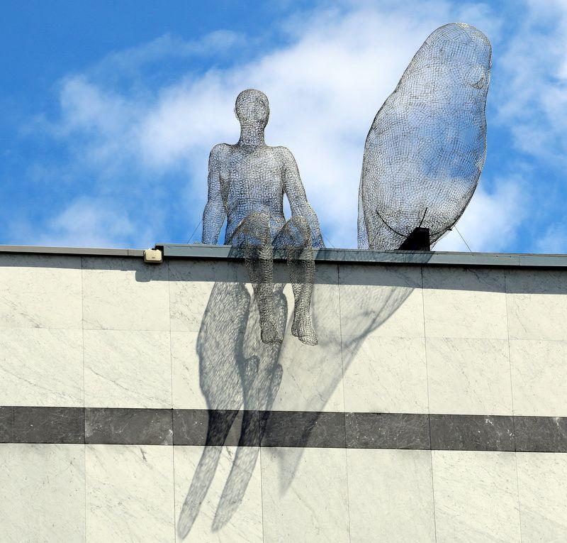 La façade du muséum d'histoire naturelle de Genève.