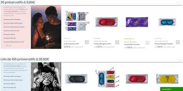 Captures d'écran du site ecapote - tous droits réservés