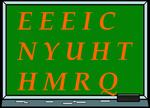 Le petit jeux de lettres (45) de Lady Marianne