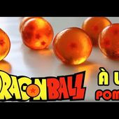 Boules DRAGON BALL Z comestibles en gélatine