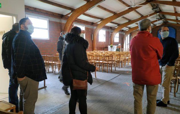 Rencontre avec des frères et sœurs de l'Église Évangélique Libre de Colomiers.