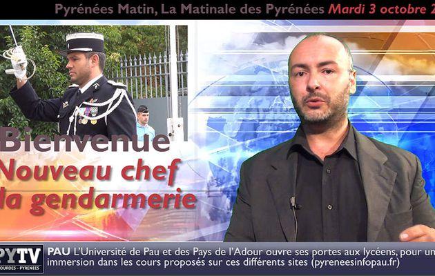 Pyrénées Matin #18 du 3 octobre 2017 | HPyTv Pyrénées