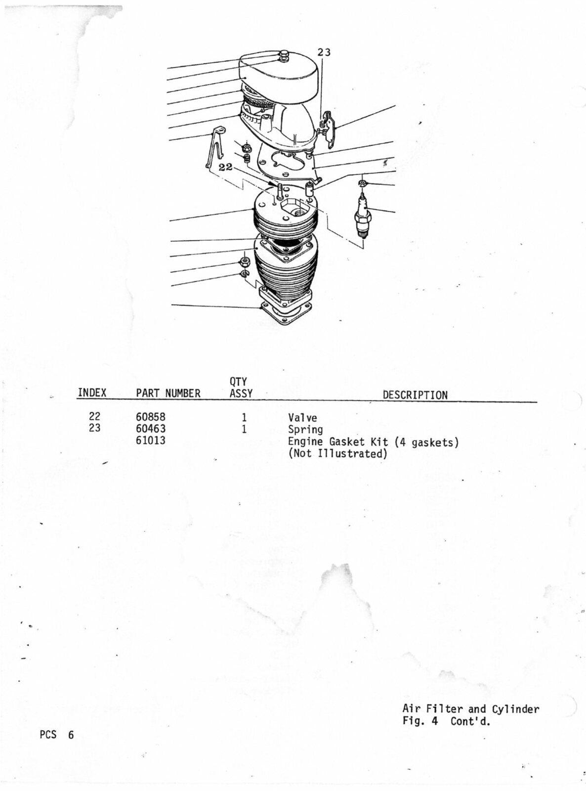 20. Motobecane 4600 V2 / V3 Parts Catalog