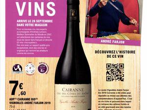 """La Foire aux vins démarre le 28 Septembre chez E.Leclerc. Cette saison on découvre les différents vins à travers des portraits d'experts ainsi que la caution """"Andreas Larsson """" Meilleur sommelier du monde en 2007"""