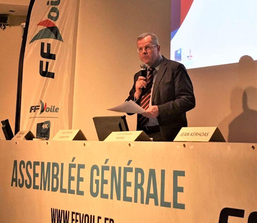 Nicolas Hénard, nouveau président de la Fédération Française de Voile (FFV)