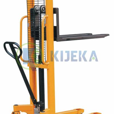 Stackers: Between Pallet Truck And Forklift!