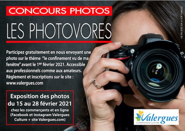 """Photovores"" édition 2021, le concours photo proposé par la commission culture"