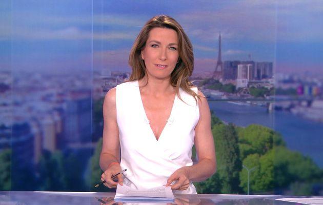 LE 13H WEEK-END d'ANNE-CLAIRE COUDRAY sur TF1 le 2016 06 25