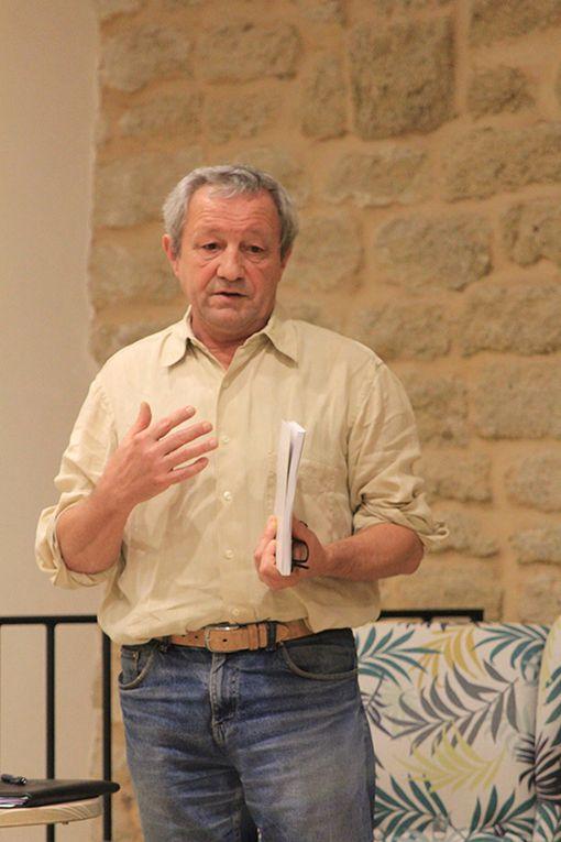 Dominique Lin présente les Lettres du Front d'Émile Sauvage, et 39-45 en Vaucluse, éd. Elan Sud à Châteauneuf-du-Pape [vidéo]