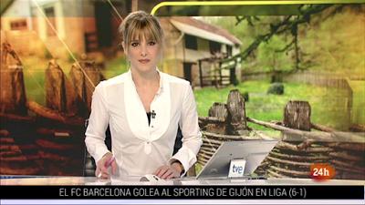 📸15 ANA IBANEZ 🇪🇸 @anaibanez_tv 😘❤️🌹 @24h_tve @telediario_tve ce matin #vuesalatele