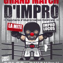 Match Improlocos vs Mite - 18 avril Dinan
