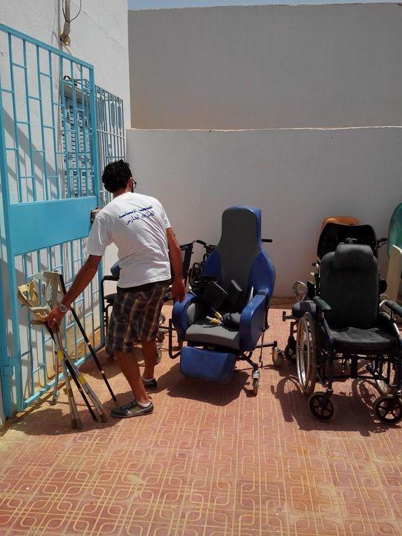 """Livraison à l'hôpital de """"Matmata Nouvelle"""" 14/08/2014"""