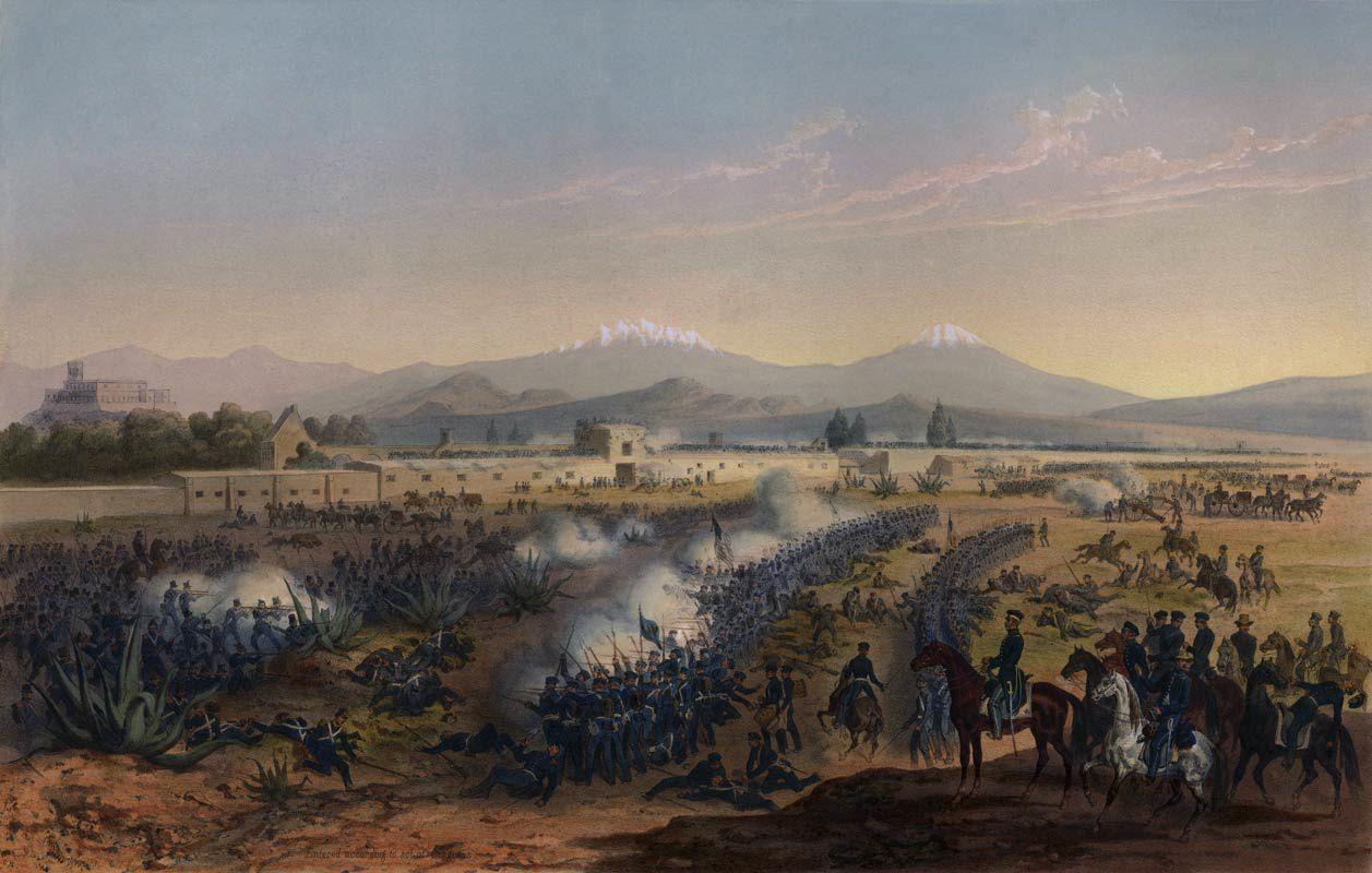 La bataille de Molino Del Rey 8 septembre 1847