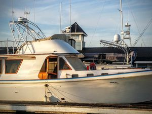 My friend Rob Tyler  .... New Port Beack , his boat will be back in December for deck & cabin restoration ...