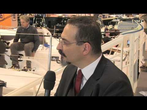 Interview vidéo Nautic 2012 - Gilles Caminade, industriel et voileux, aux commandes d'Archambault
