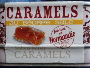 Boîte de caramels/beurre salé, le Mont St-Michel/Patrimoine mondial/Unesco, Cl. Elisabeth Poulain