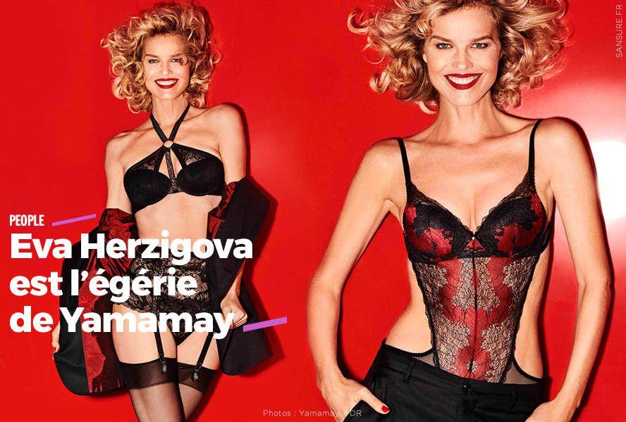 Eva Herzigova est l'égérie de Yamamay (diporama) #sexy