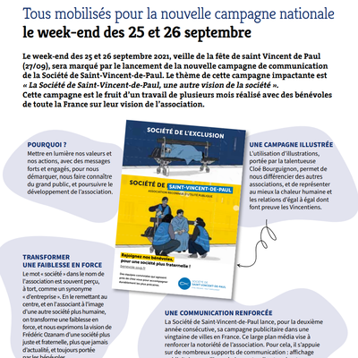 Campagne nationale 2021