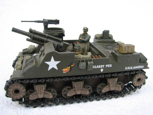 M7 Priest Solido au 1/50 revisité par Robert B.