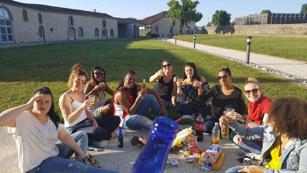 Tournoi des seniors filles à Pougauze en Vendée les 19 et 20 Mai