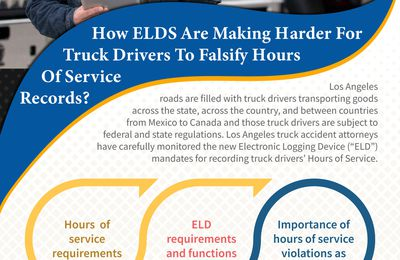 How ELDS Are Making Harder For Truck Drivers To Falsify Hours Of Service Records? 