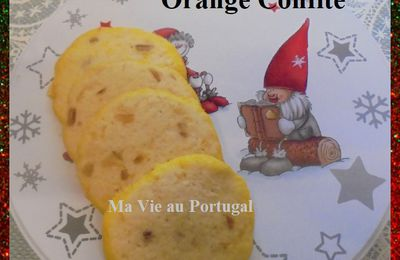 "Biscuits ""Diamants"" au Citron et Orange Confite .."
