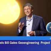 Sweden Cancels Bill Gates Geoengineering Project To Block The Sun Due To Catastrophic Consequences | GreatGameIndia
