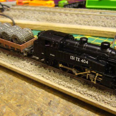 digitalisation et patine loco vapeur 130 TC Arnold